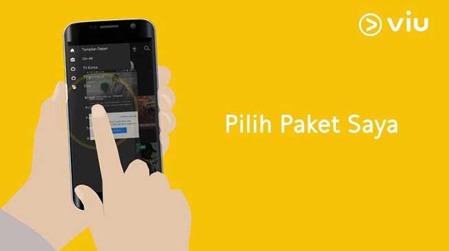 Cara Daftar Akun Viu Via Smartphone