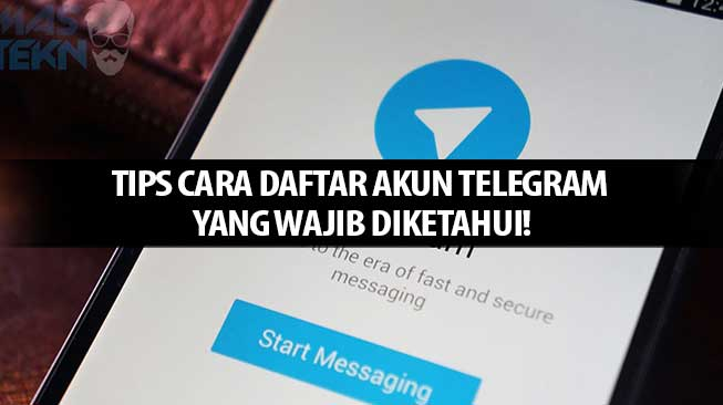 Cara Daftar Akun Telegram