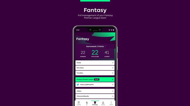 Download Fantasy Premiere League Di Play Store